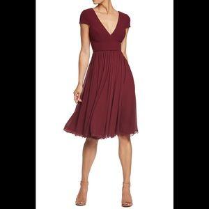 Dress The population Corey chiffon dress